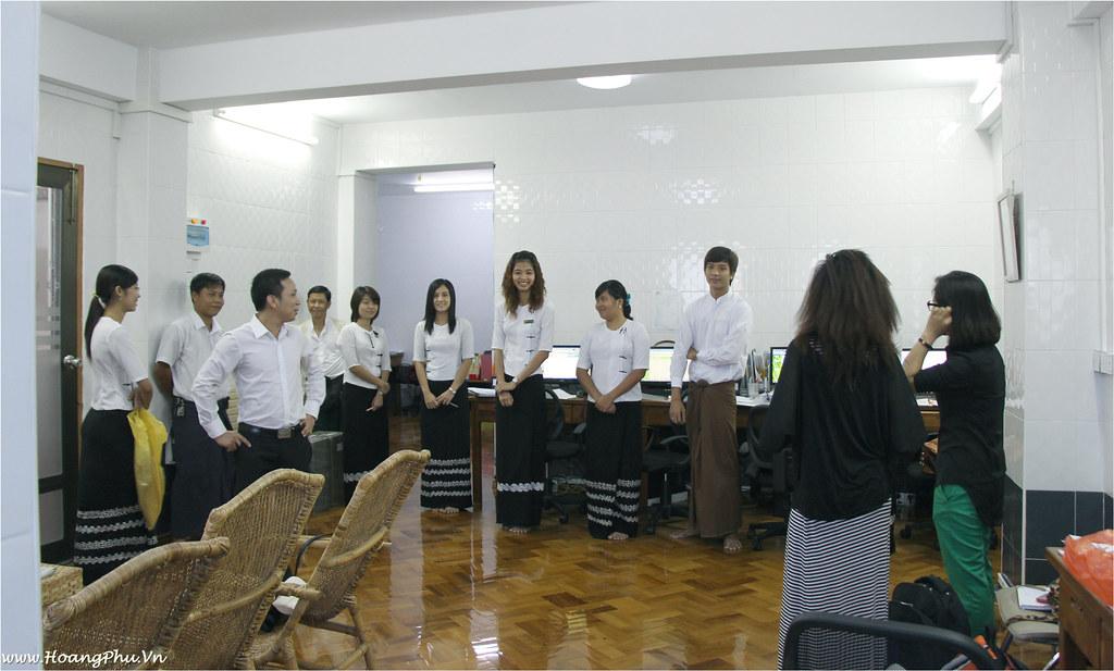 Meeting Myanmar Travel Team @ Yangon Office