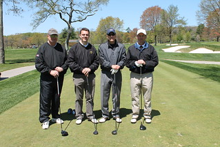 Golfers at the Cabrini Classic