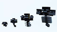 LEGO Minecraft Wither