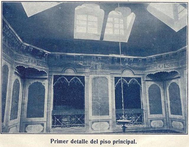 Interior del Casino de Toledo en 1916. Boletín del 50 aniversario del Centro de Artistas e Industriales. Archivo Municipal de Toledo (c)