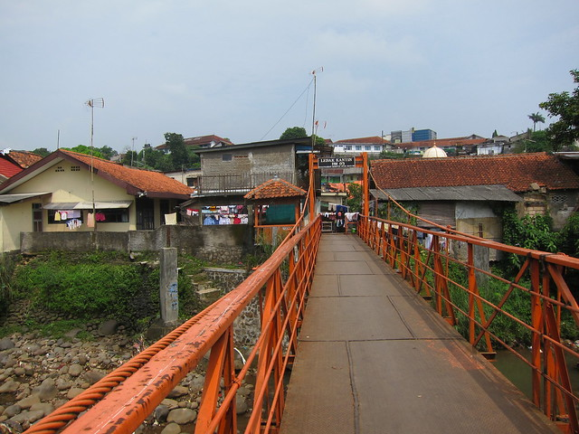 Orange Suspension Bridge
