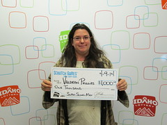 Valdean Phillips - $1,000 Super Slingo Max.