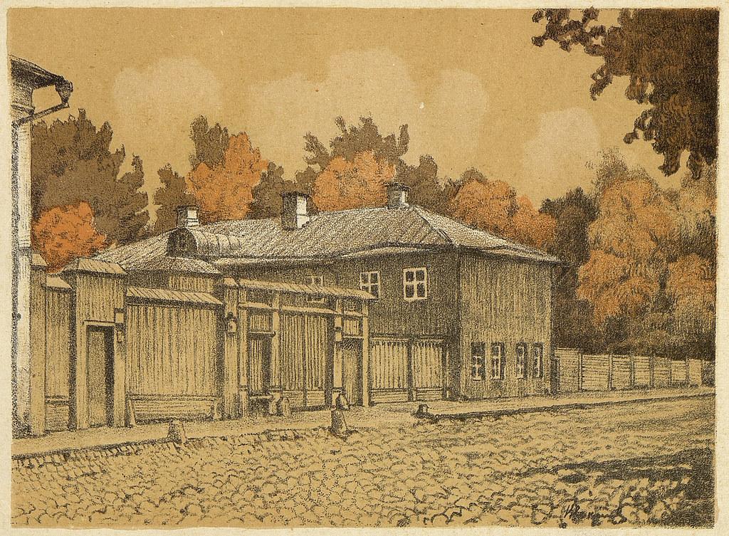 老莫斯科风景画5