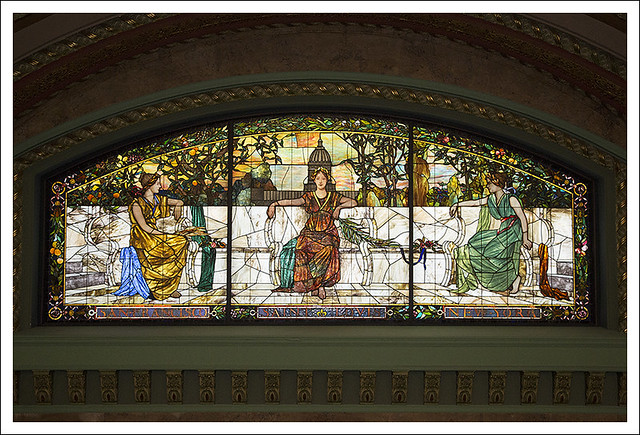 Allegorical Window In Union Station 4