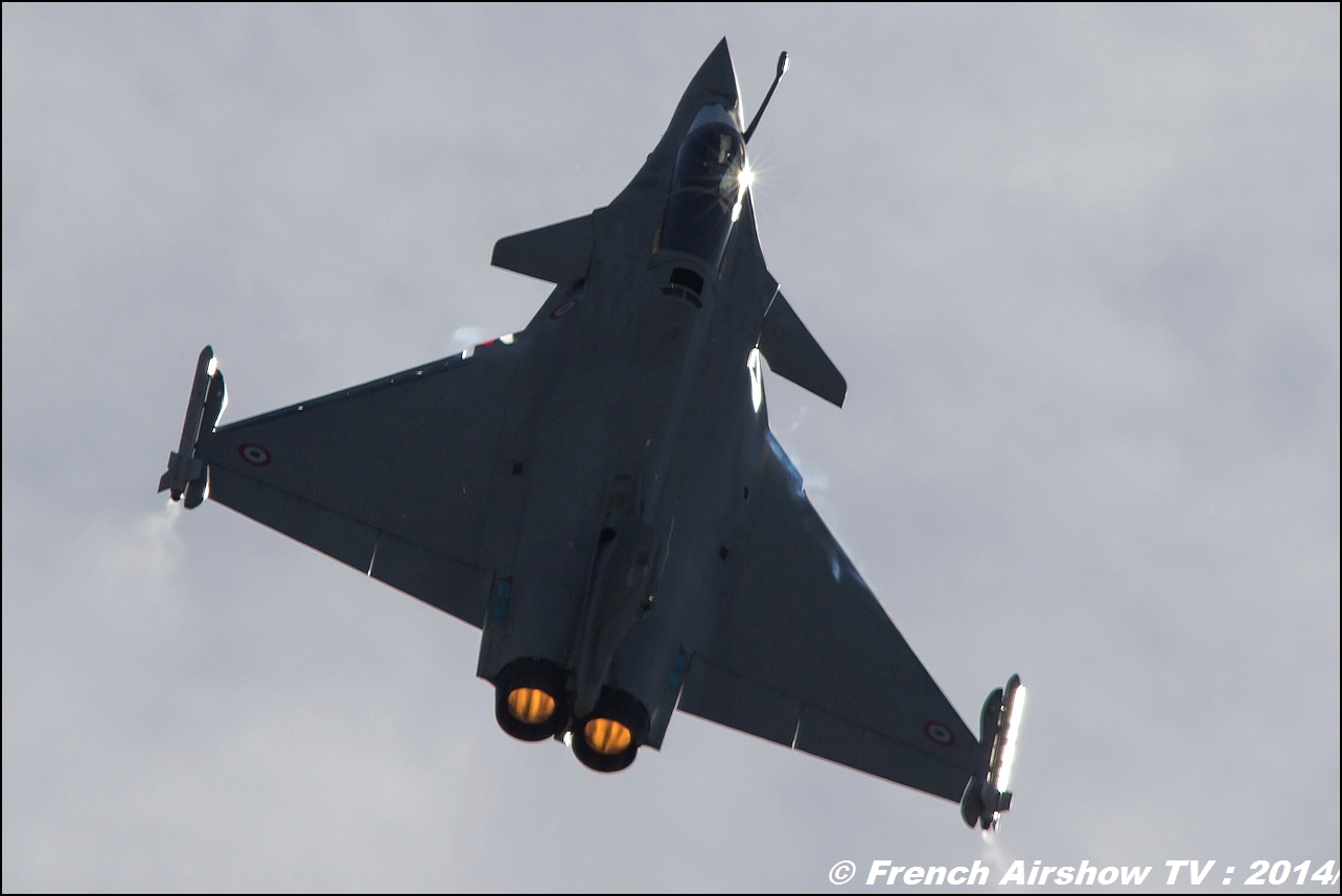 Rafale Solo Display ,Meeting Aerien 2014