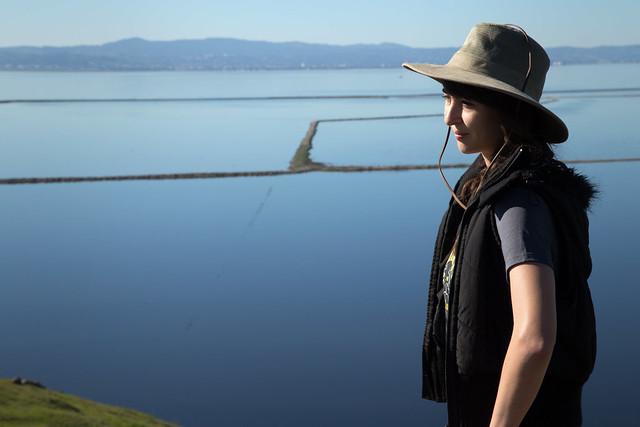 Me-hiking Coyote Hills San Fran bay