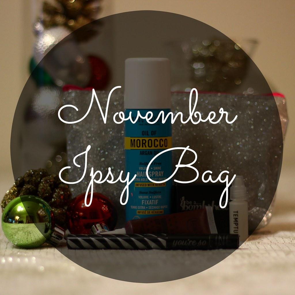 November 14 Ipsy Bag