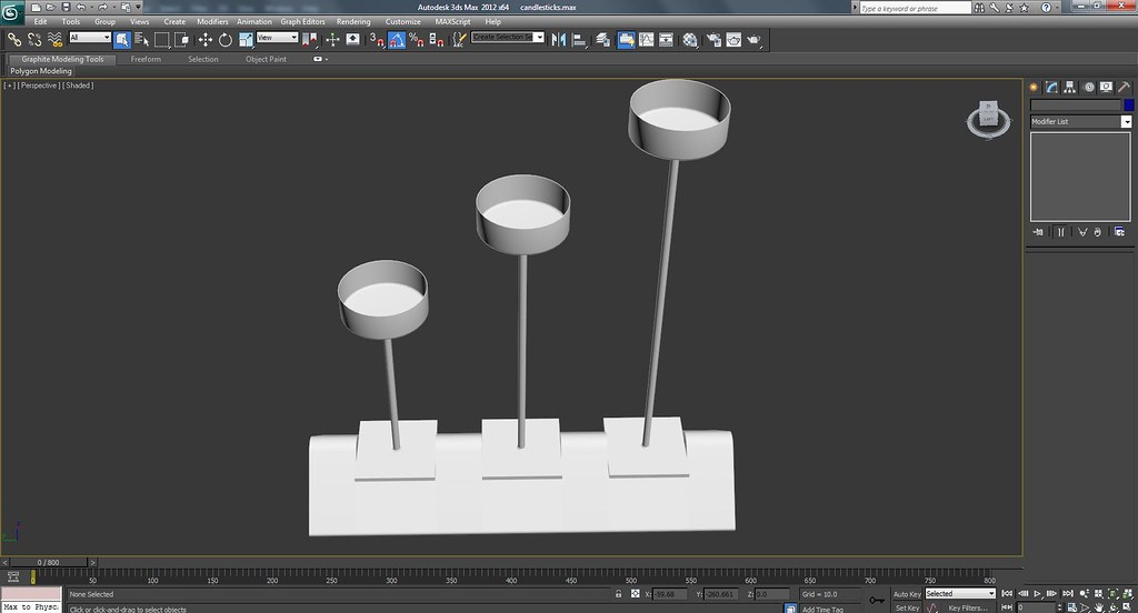 3d Candles Work In Progress Wire Frame Screenshots