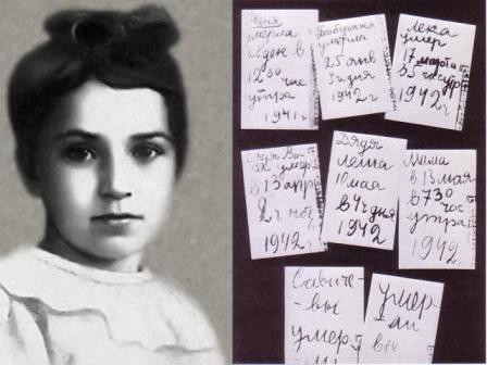 El diario de Tatiana Sávicheva