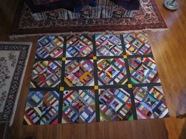 Quilt top progress