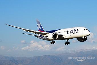 LAN B787-8 app SCL (RD)