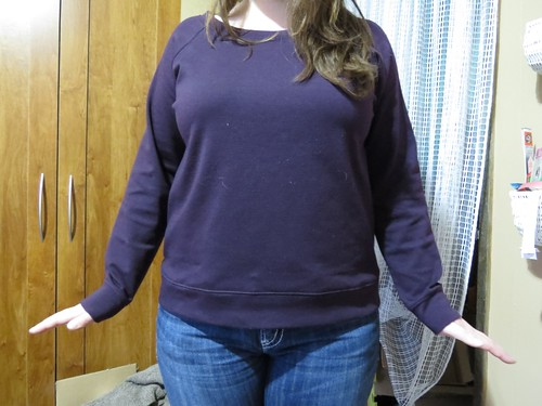 Purple Linden Sweatshirt