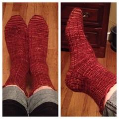 2015 First Socks FO