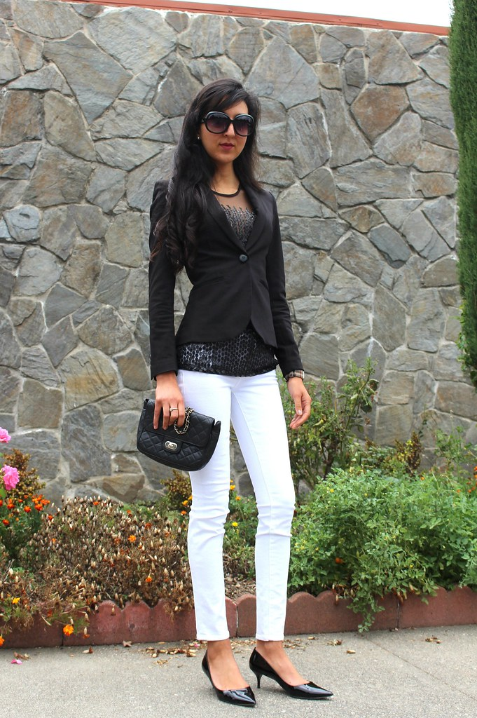 Black, white, Sequins (Wear to Work) 6