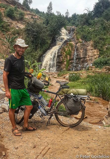 Waterfall in Rwanda