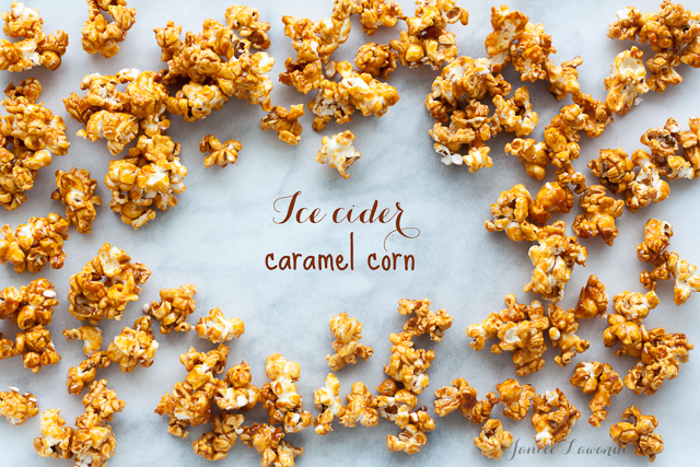 ice cider caramel corn | Janice Lawandi @ kitchen heals soul, recipe from Brown Eggs and Jam Jars