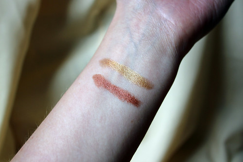 Swatches for a review on The Gatehouse
