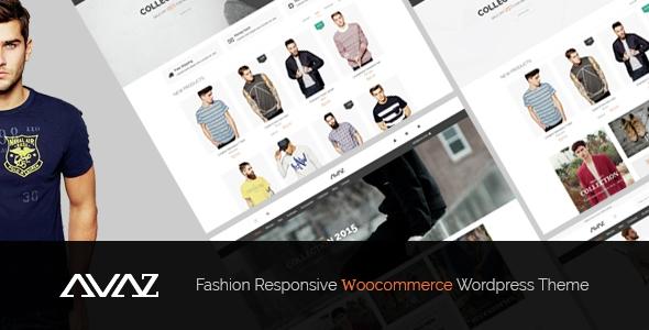Avaz v1.1 - Fashion Responsive WooCommerce Wordpress Theme