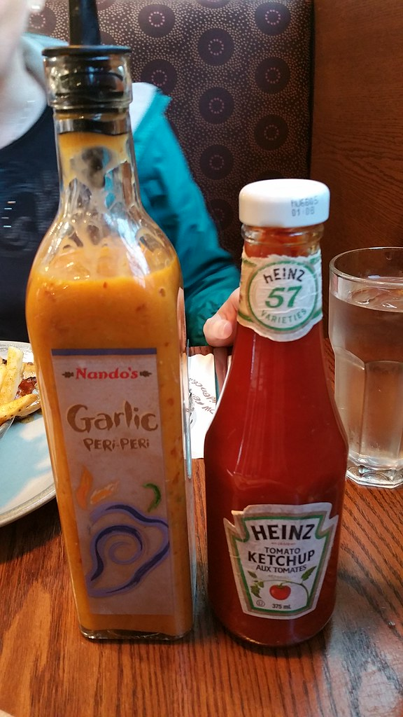 2016-May-19 Nando's Chicken - condiments