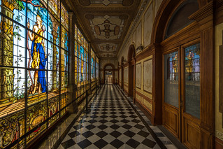 The hallway, Mexico City