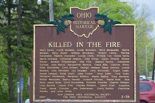 ohio historicmarker fitchville stateroad13