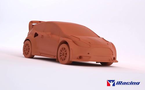 iRacing Ford Fiesta GRC car