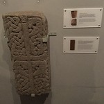 Saxon tombstone, by Stamford Bridge Tapestry Project