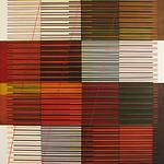 Emilio Lobato - Rincon Nuevo; Collage with oil on panel; 2008; 50 x 50