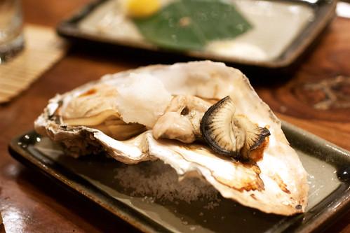 oyster @ robataya