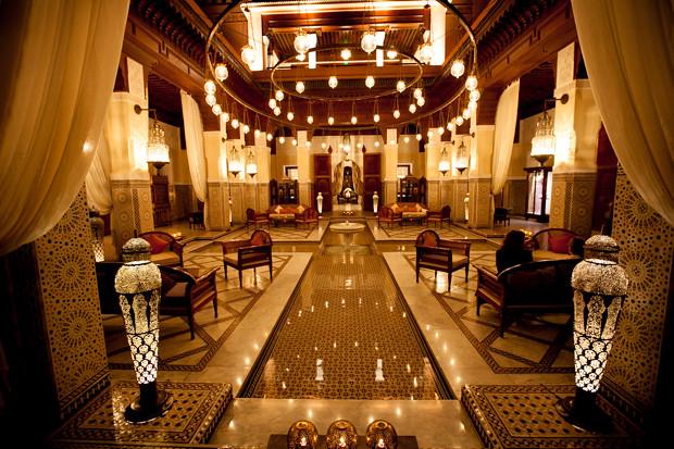 Royal Mansour Courtyard