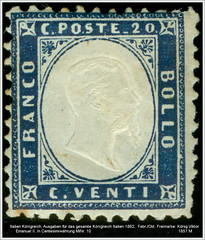 Stamps coins Italia