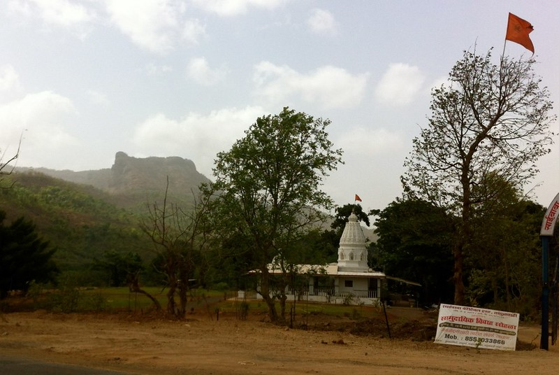 Cycling at Kelve - View of Ghats