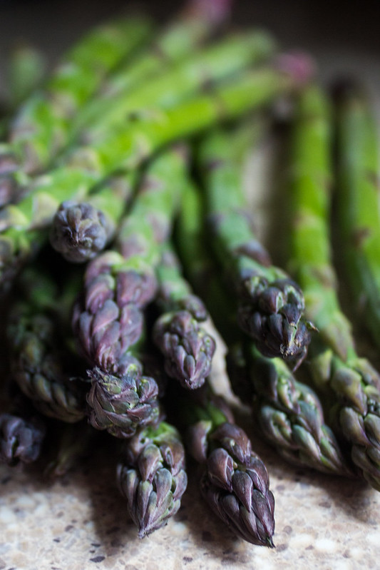 the season of asparagus