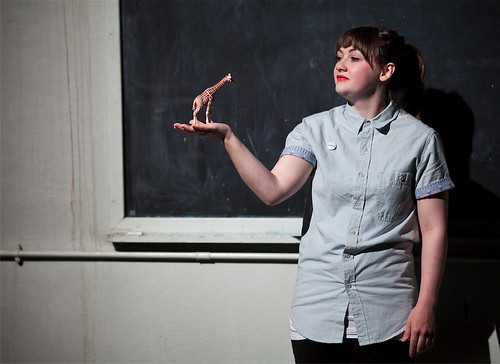 Jenna Watt in Flaneurs. Photo credit Eoin Carey