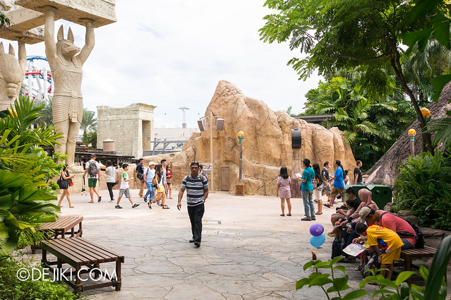 USS May Park Update - Ancient Egypt cleared area