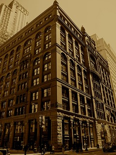 Kuva The Rookery lähellä Cook County. chicago rookerybuildingadamslasalle