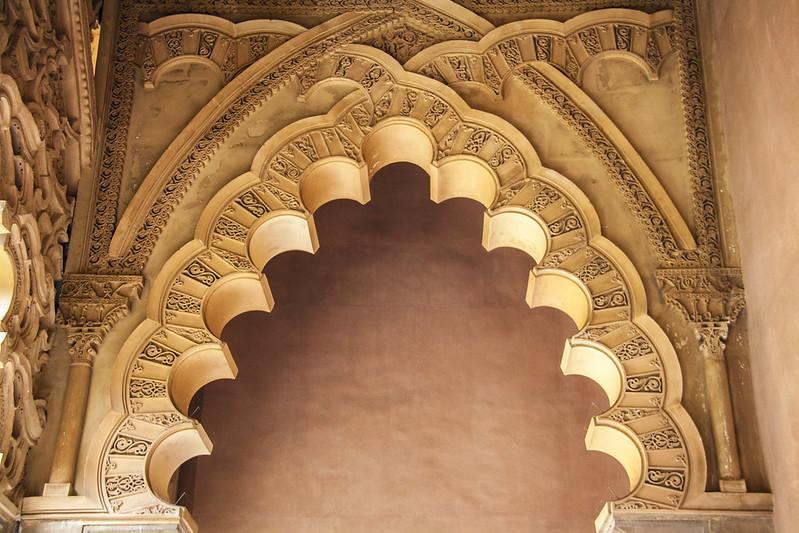 Arco del pórtico de entrada
