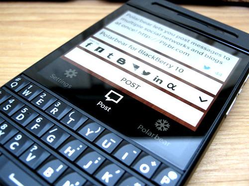 Polarbear app for BlackBerry Z10, Q10 & Q5!