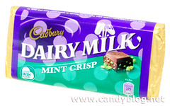 Cadbury Dairy Milk Mint Crisp - Ireland