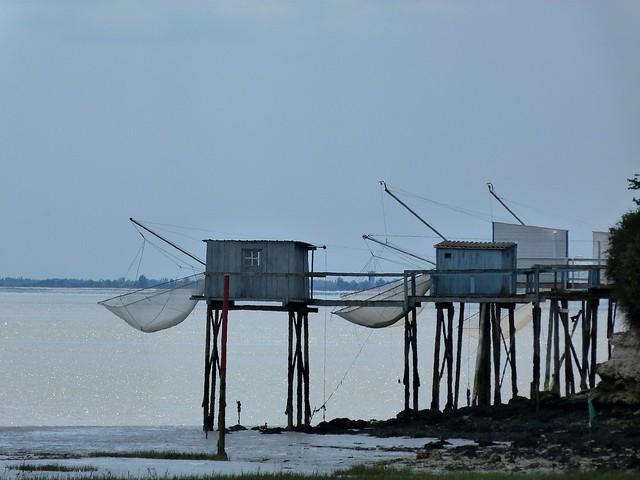 Les carrelets de Talmont sur Gironde