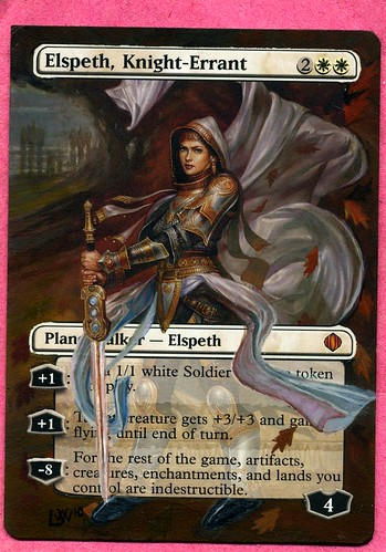 Elsepth Altered Art magic the gathering mtg altered art card artwork