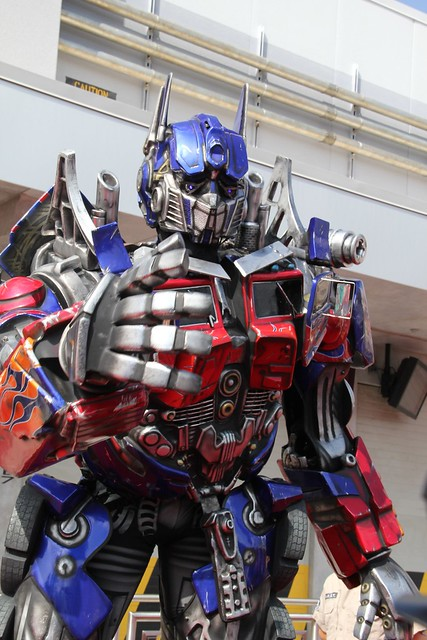 Transformers: The Ride 3D grand opening at Universal Orlando