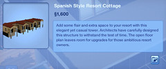 Spanish Style Resort Cottage