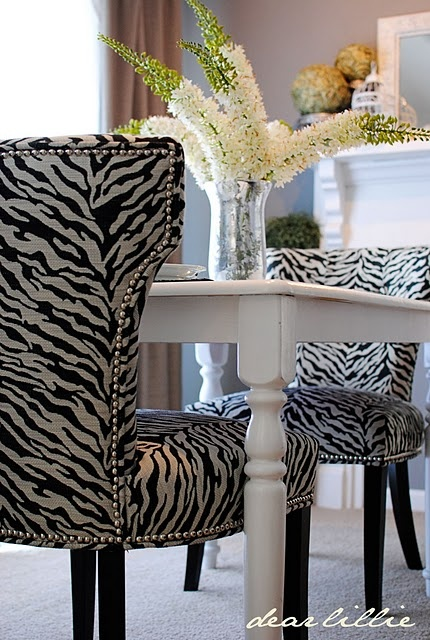 Living After Midnite: Room for Style: Animal Print Home Decor