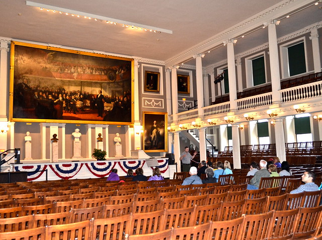 What to see in Boston - Faneuil Hall
