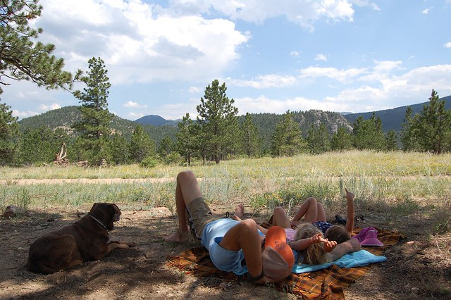 Nap time - Camping and Boating, Gross Reservoir, CO