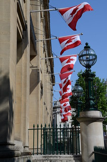 Canada House at Trafalgar Square