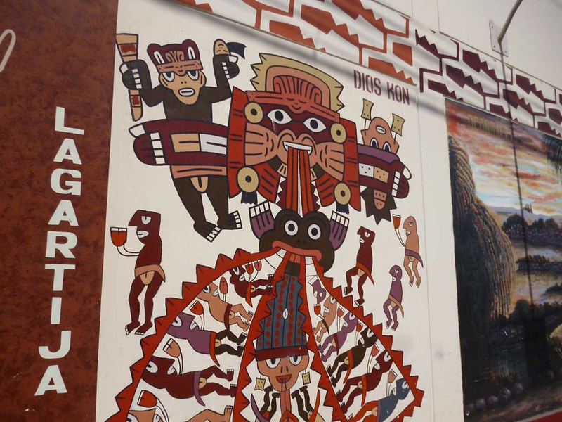 Mural in Nasca
