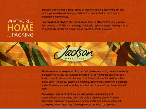 Jackson Marketing Website