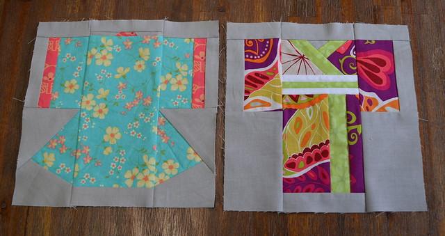 Kimono Paper Pieced